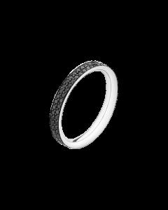 Magic 18 Karat Hvidguld Ring fra Georg Jensen med Diamanter 0,51 - 0,71 Carat TW/VS