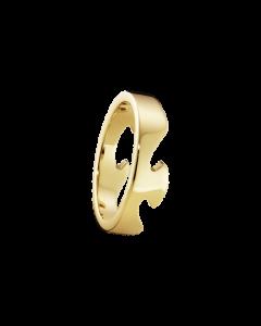 Georg Jensen Fusion Ende 18 Karat Guld Ring 20000291H