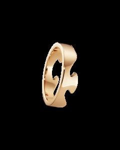 Georg Jensen Fusion Ende 18 Karat Rosaguld Ring 20000293H