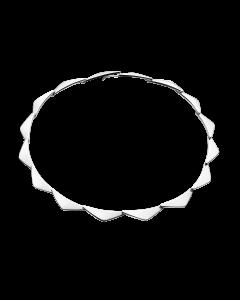 Peak Sterling Sølv Halskæde fra Georg Jensen 20000562H