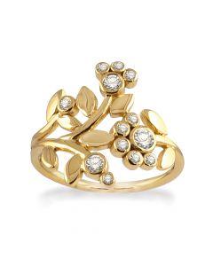 Forgyldt Sølv Ring fra Rabinovich 64920370
