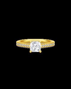 Julie Sandlau Imperial Forgyldt Sølv Ring