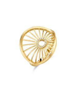 Aura Forgyldt Sølv Ring fra Spirit Icons S51252