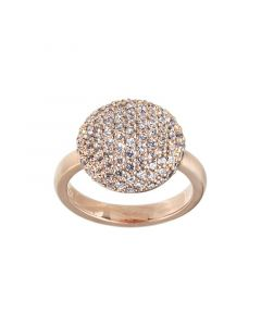 Sparkle Rosaforgyldt Sølv Ring fra byBiehl 5-701A-RG