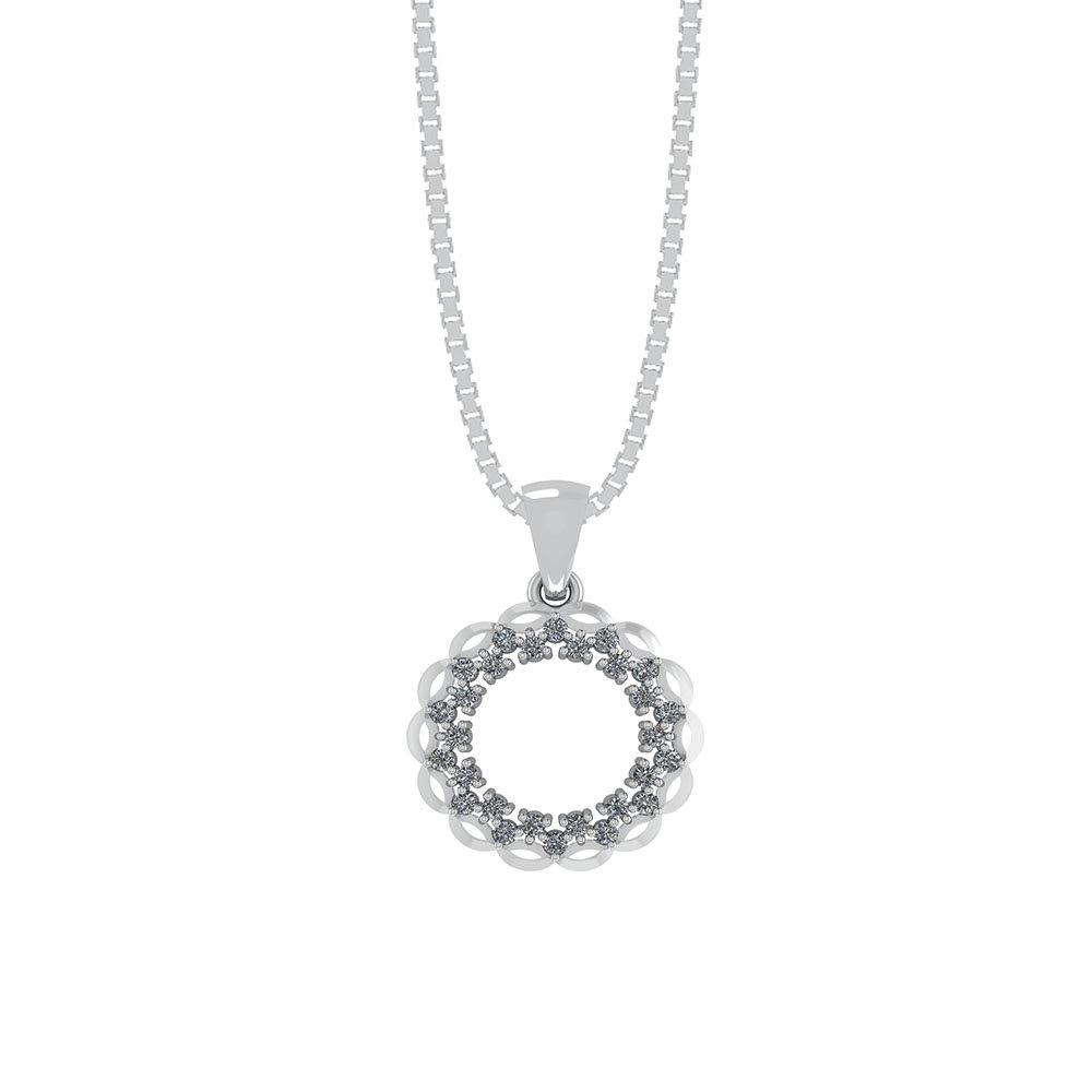 Sterling Sølv Halskæde fra Smykkekæden ORSM004S